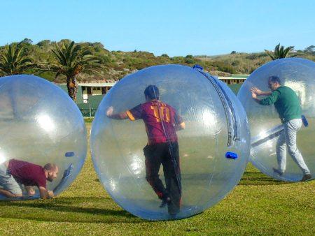 Bolas gigantes no Vimeiro Clube Aventura