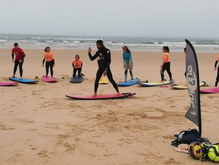 Surf para Escolas no Vimeiro Clube Aventura